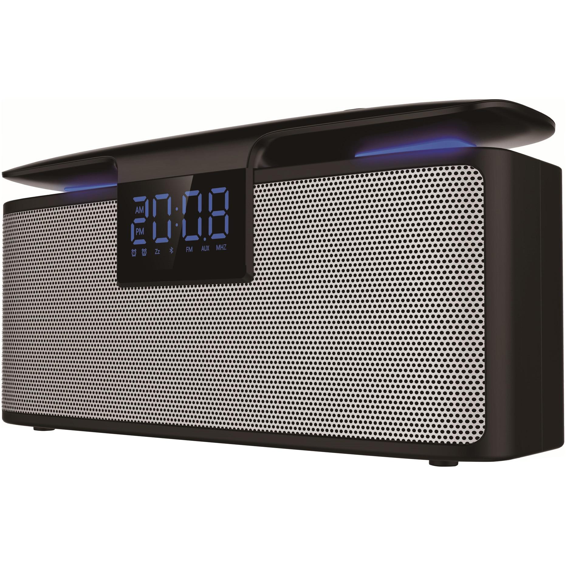 Fotografie Boxa Portabila AKAI ABTS-M10, Bluetooth, Radio Ceas, USB, TF Card