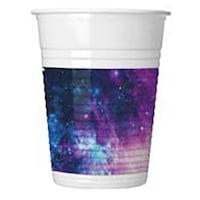 Galaxy Party Műanyag pohár 8 db-os 200 ml PNN90619