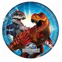 Jurassic World Papírtányér 8 db-os 23 cm PNN87209