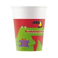 Croco, Krokodil Papír pohár 8 db-os 200 ml PNN90557