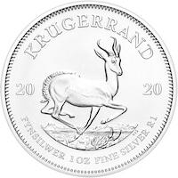 Сребърна монета Крюгеранд - Южна Африка 2020