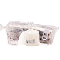 Set 25 pahare gradate folosite la mixare vopsea sau lac - capac inclus - 1400 ml CBS