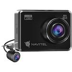 Navitel R700 autós menetrögzítő dual kamera, GPS, éjjellátó mód, SONY IMX307 érzékelő, 2,7 hüvelykes kijelző, FHD + hangfelvétel, 120°-os látószög, IP65-ös hátsó kamera 180 °-os elforgatás, kültéri használat
