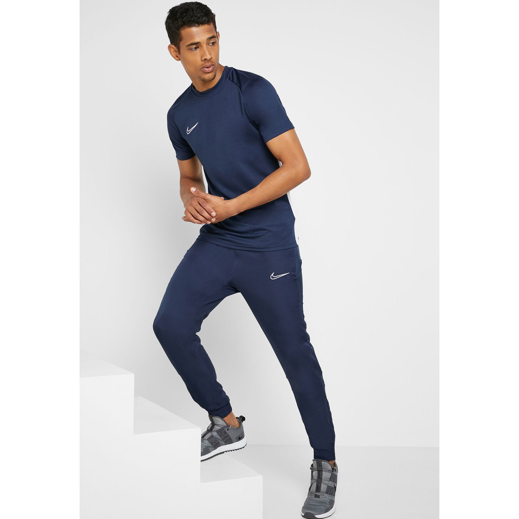 jefe Disfraces natural  Pantaloni barbati Nike Dri-FIT Academy AR7654-452, L INTL, Bleumarin -  eMAG.ro
