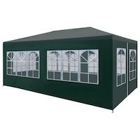 Парти шатра vidaXL, 6х3х2,55 м, зелена