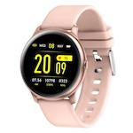 Смарт часовник Smart Wear WK19, IP67 Водоустойчивост, Пулс, Калории, Bluetooth, Ултратънък, Розов