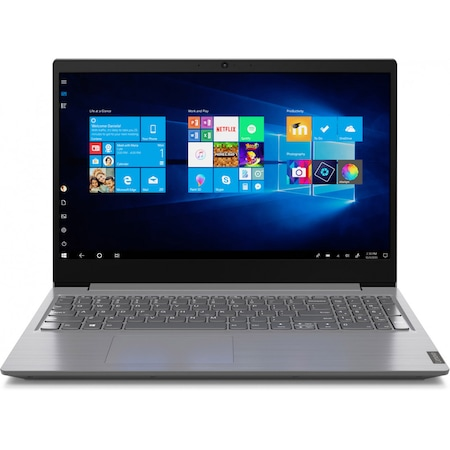Лаптоп Lenovo V15-IWL с Intel Core i5-1035G1 (1.0/3.6 GHz, 6M), 12 GB, 1TB M.2 NVMe SSD, Intel UHD Graphics, Windows 10 Pro 64-bit, сив