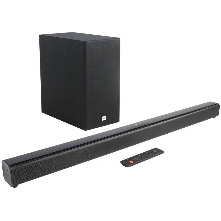 Fotografie Soundbar JBL Cinema SB160 , 2.1, 220W, Wireless Subwoofer, Bluetooth, Dolby Audio, Negru