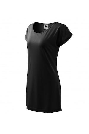 Tricou pentru dama, Negru, 123-01, S