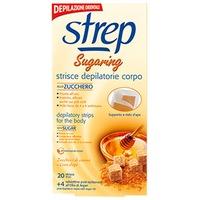 Депилиращи ленти за тяло Strep, Със захар 20 бр