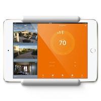 Elago Home Hub Mount - силиконова поставка, прикрепяща се към стената за iPad Pro, iPad Air, iPad и iPad mini (бяла)