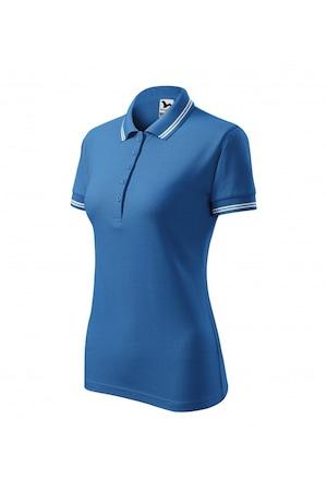 Tricou polo pentru dama, Albastru azuriu, 220/3, Albastru azur