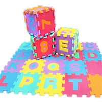 covor din puzzle