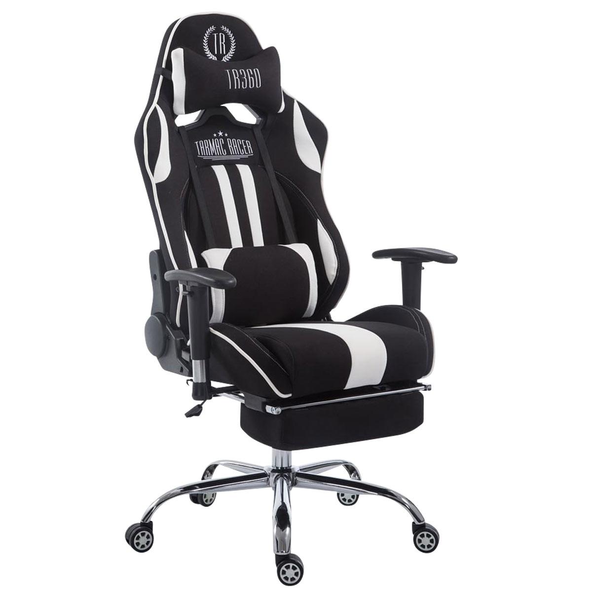 Limit gamer szék lábtartóval (sárga) eMAG.hu
