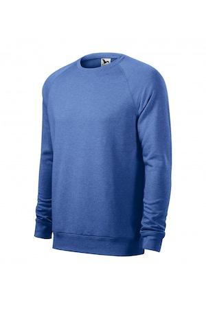 Bluza pentru barbati, Albastru melanj, 415/4, Albastru melanj