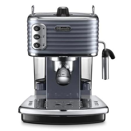 DeLonghi ECZ351.GY Eszpresszó kávéfőző, 1100W, 1.4 literes víztartály, Szürke