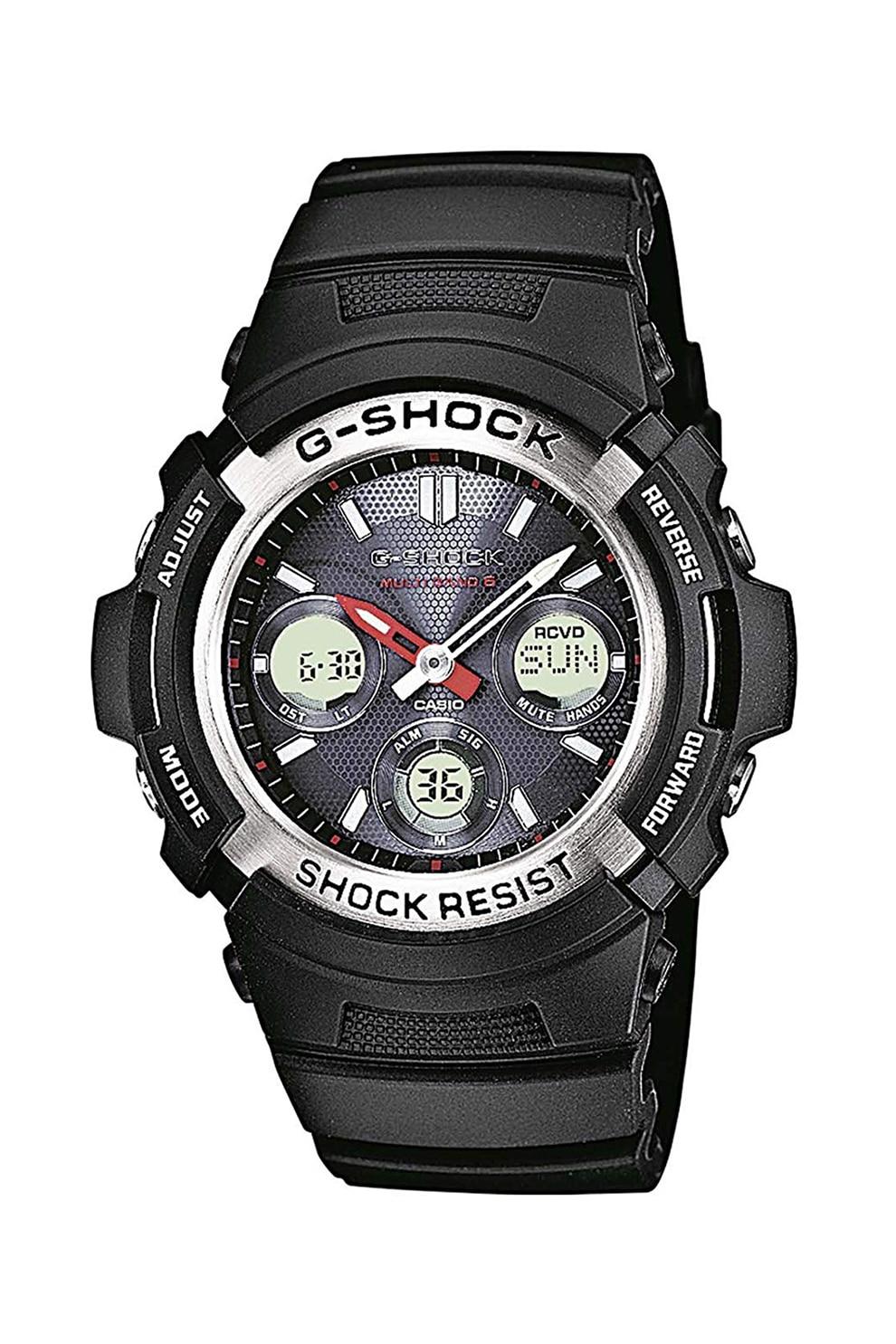 Fotografie Casio, Ceas digital G-Shock Resistant, Negru