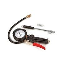 HBM, kerékfújó pisztoly, nyomásmérővel, 4 darab