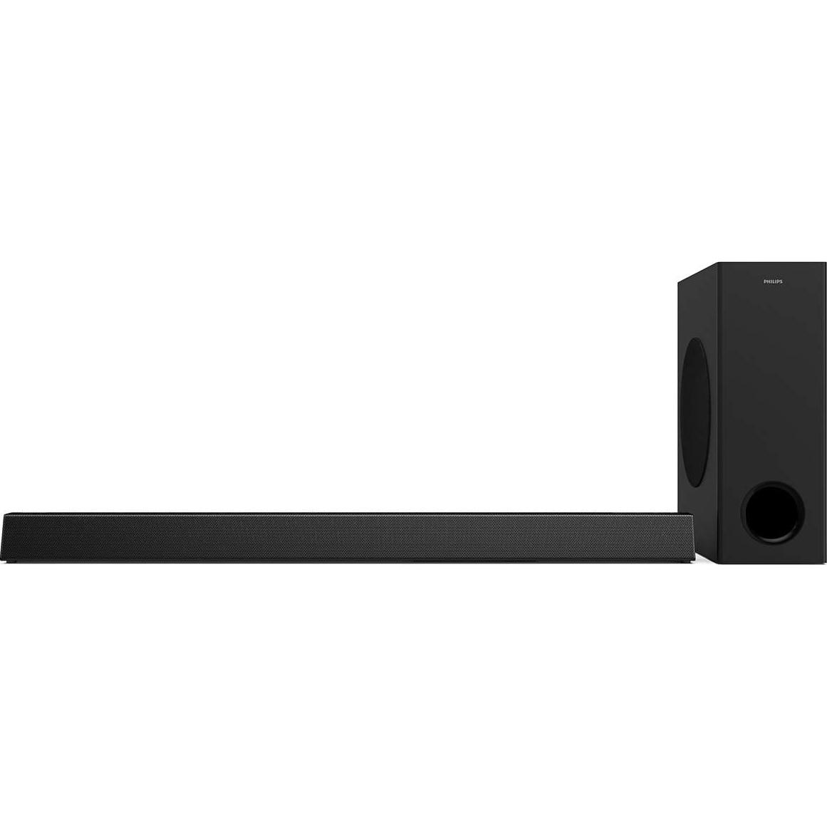 Fotografie Soundbar Philips HTL3320/10, Subwoofer wireless 3.1 CH, Dolby Digital, HDMI ARC, 300 W, Bluetooth, USB, Negru
