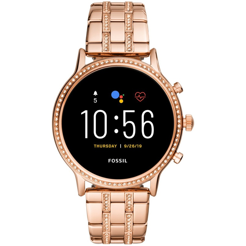 Fotografie Ceas Smartwatch Fossil Julianna HR, Rose Gold/Steel