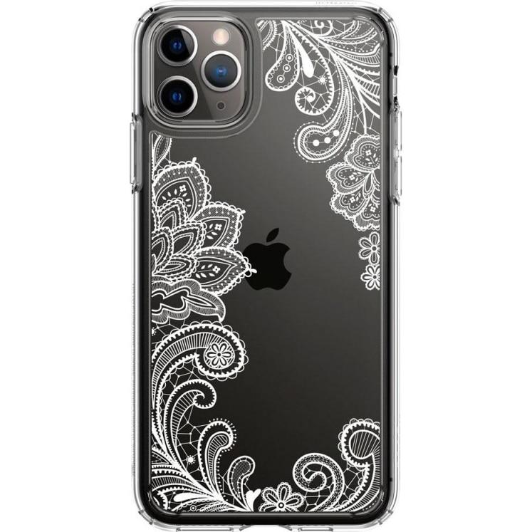 Fotografie Husa Spigen Ciel Cecile pentru iPhone 11 Pro Max, White Mandala