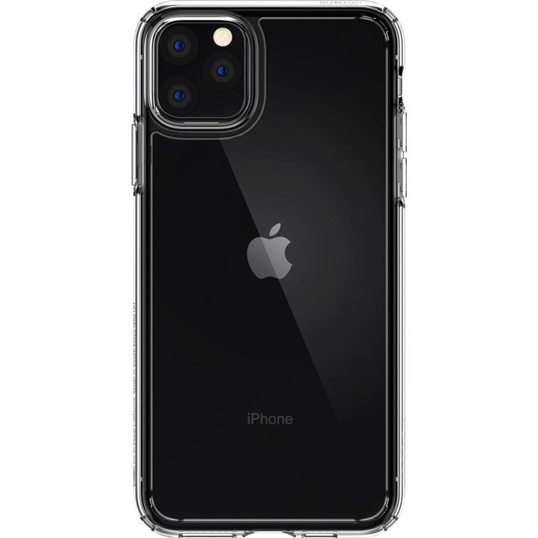 Fotografie Husa Spigen Crystal Hybrid pentru iPhone 11 Pro, Crystal Clear