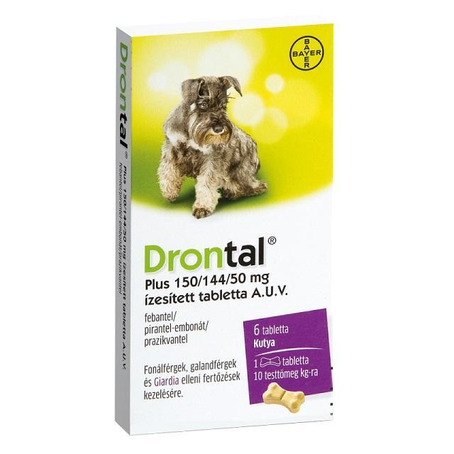 kutya féreghajtó gyógyszer