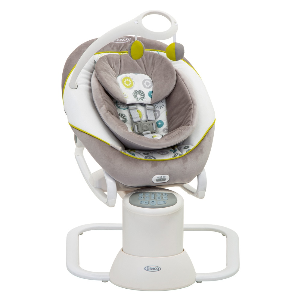 Fotografie Balansoar Graco All Ways Soother The Works, Gri