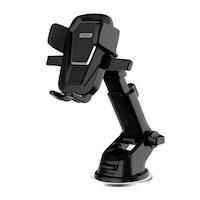 WK Design univerzális autós telefontartó műszerfalra-szélvédőre WP-U83 - Fekete