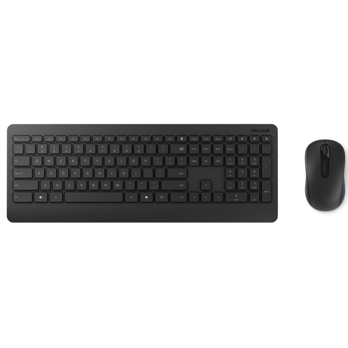 Fotografie Kit Tastatura + Mouse Microsoft Desktop 900, Wireless, Negru