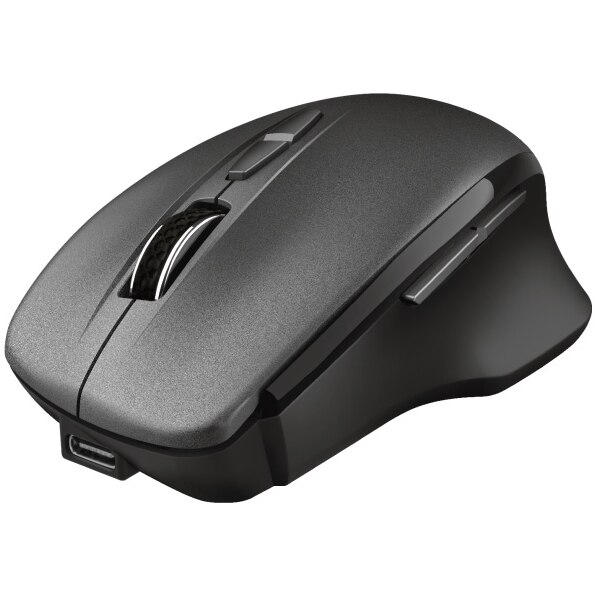 Fotografie Mouse wireless Trust Themo, Negru