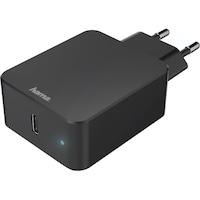 Hama Qualcomm Hálózati töltő, USB, PD 18W, 100-240 V, Fekete