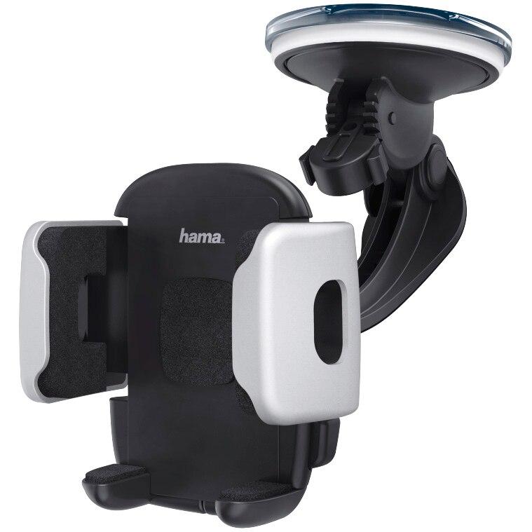 Fotografie Suport auto Hama suport Auto universal pentru dispozitive 3 - 6.5 cm, Negru