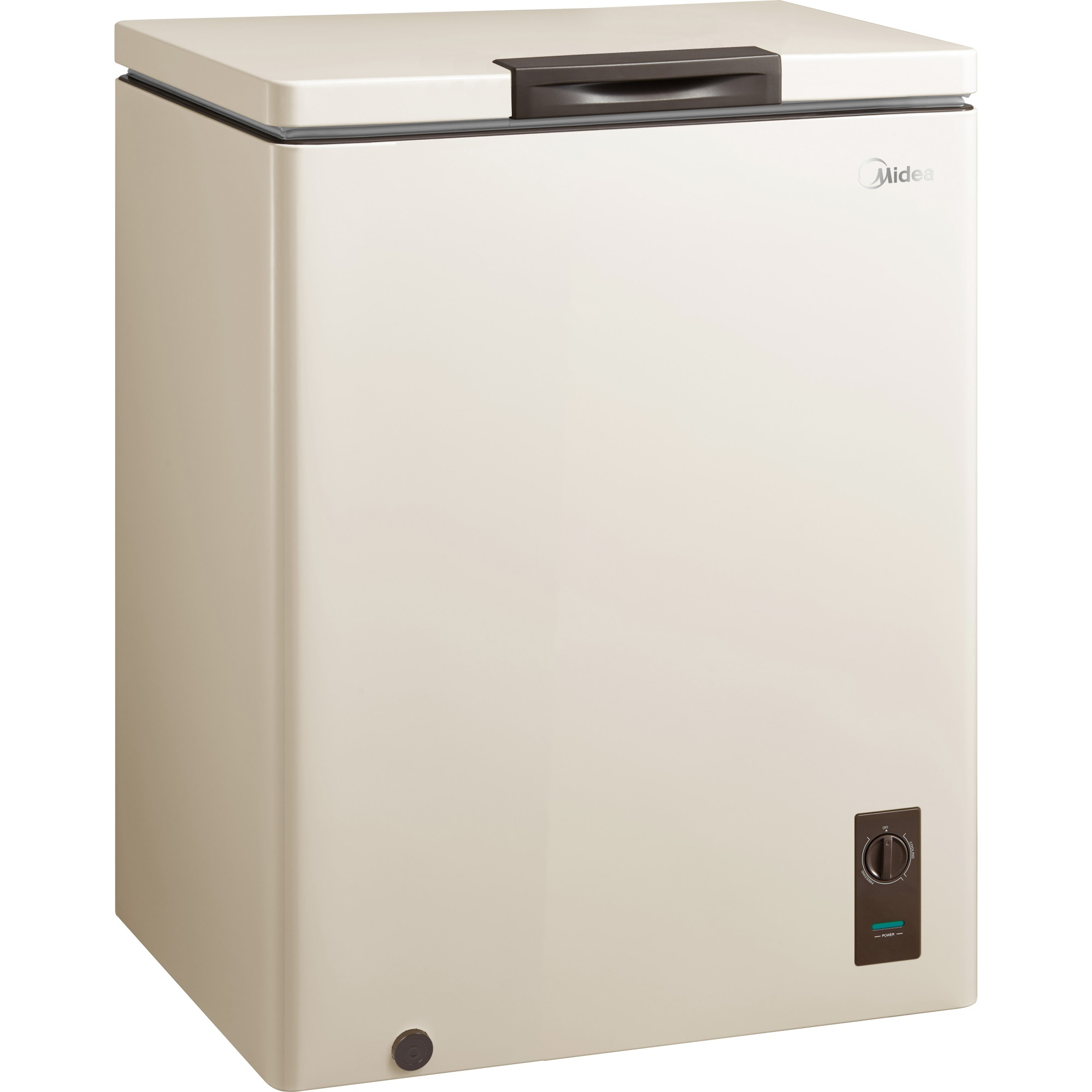 Fotografie Lada frigorifica MIDEA HS-186CNB, 142l, Functie frigider, LED, Clasa A+, Bej