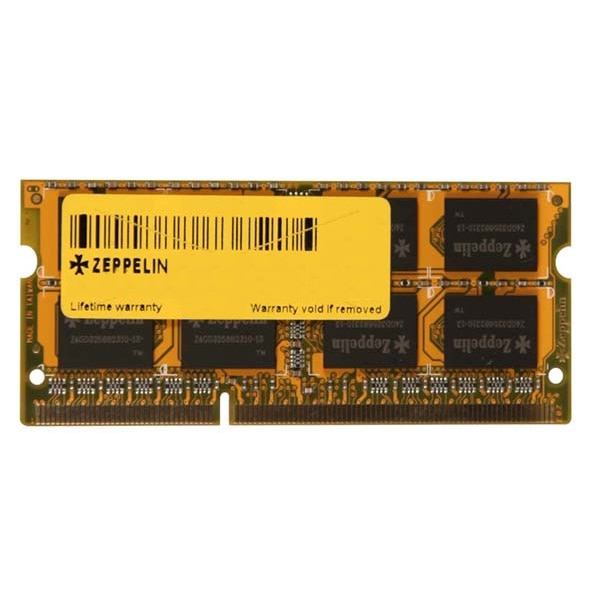 Fotografie Memorie laptop Zeppelin 4GB, DDR3, 1333MHz, Bulk