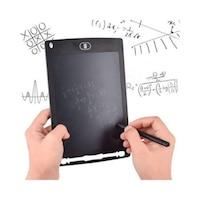 Детски LCD таблет за рисуване с писалка, черен