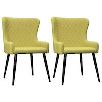 scaun catifea verde