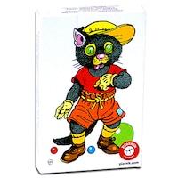 Állatok Fekete Péter gyerekkártya