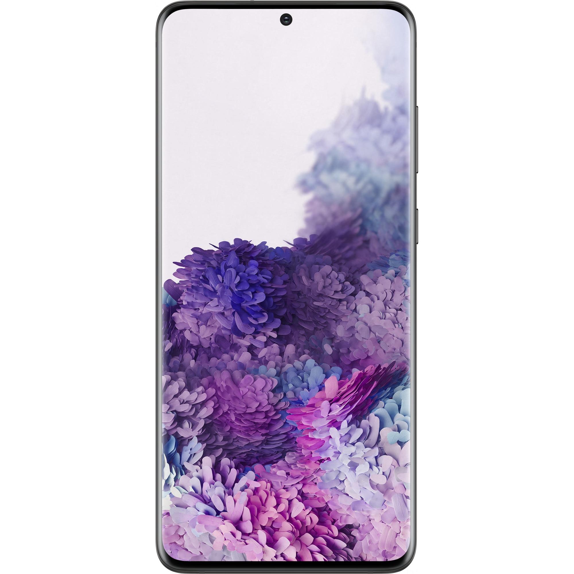Fotografie Telefon mobil Samsung Galaxy S20 Plus, Dual SIM, 128GB, 12GB RAM, 5G, Cosmic Black