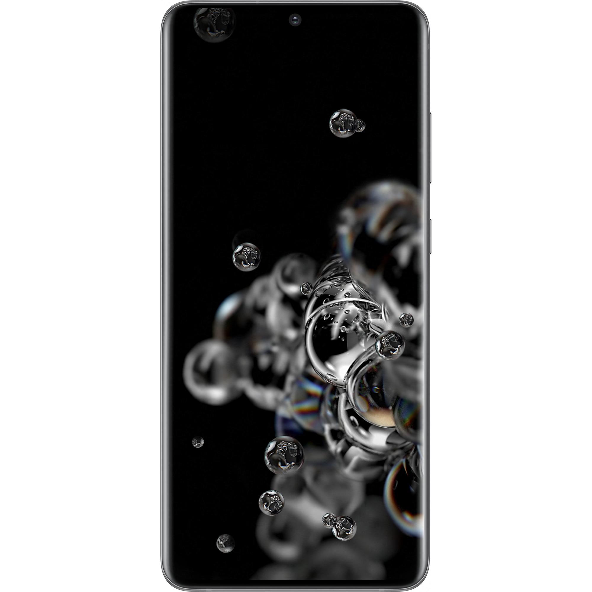 Fotografie Telefon mobil Samsung Galaxy S20 Ultra, Dual SIM, 128GB, 12GB RAM, 5G, Cosmic Gray