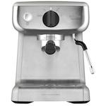Espressor manual Breville Barista Mini VCF125X-01, 15 bari, 2 l, Recipient detasabil lapte 0.35 l, Silver