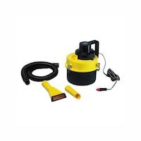 Lampa Tartályos porszívó, eltávolítható porszűrő, 3,5 L, 160 W, 12 V, sárga