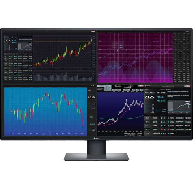 "Fotografie Monitor LED IPS Dell 25"", WQHD, Display Port, USB-C, Negru, U2520D"