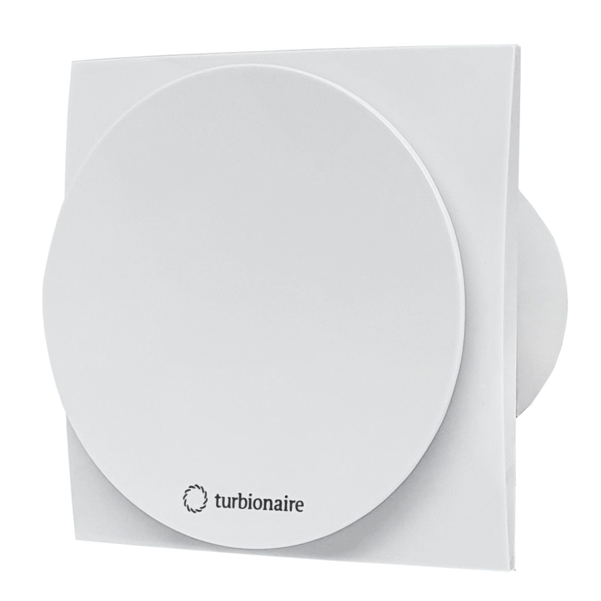 Fotografie Ventilator baie Turbionaire MIO 100 LL-TW, timer, clapeta antiretur, motor Long Life, IPX4, 100 mm, Alb