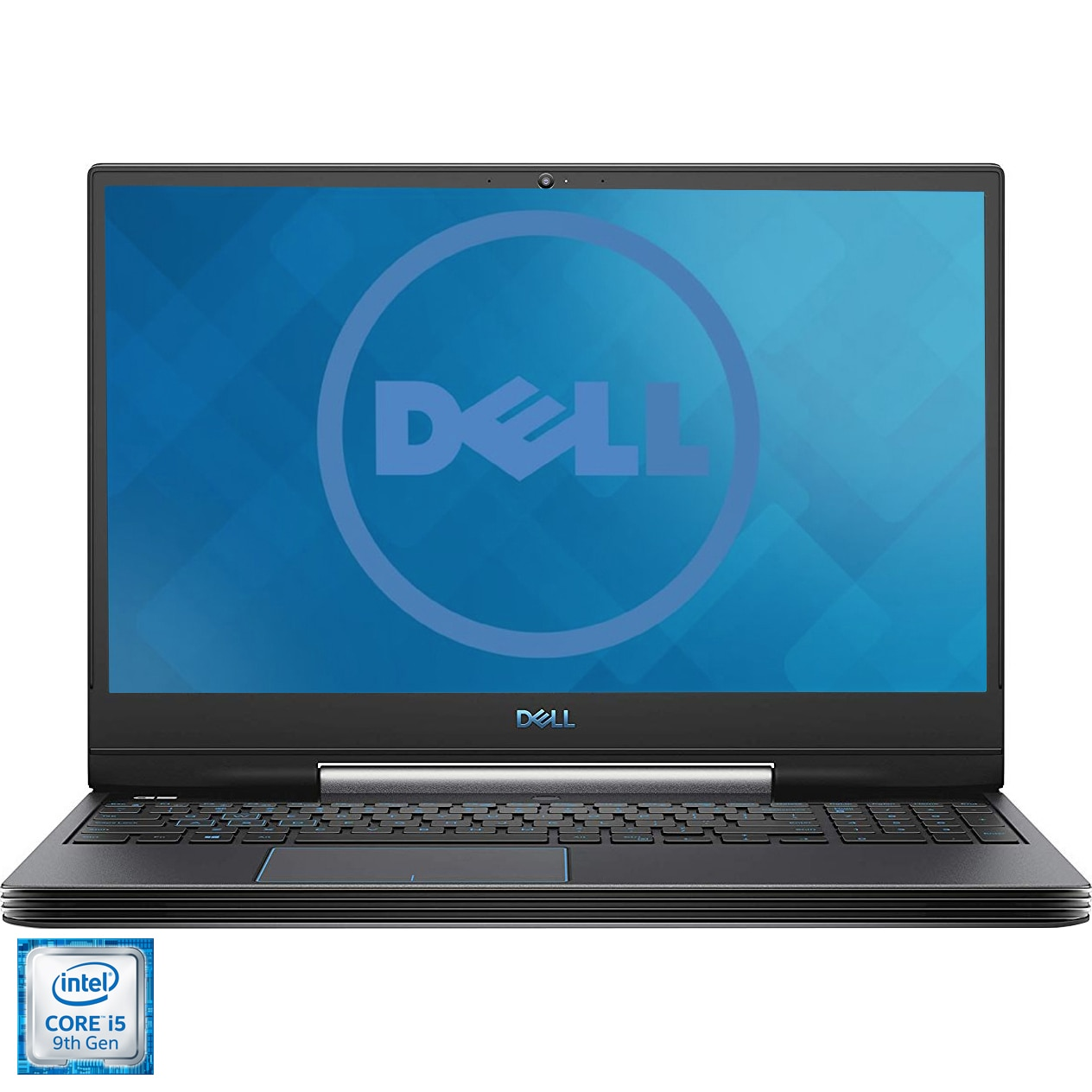 "Fotografie Laptop Gaming Dell Inspiron G5 5590 cu procesor Intel® Core™ i5-9300H pana la 4.10 GHz Coffee Lake, 15.6"" , Full HD, IPS, 8GB, 1TB HDD + 256GB SSD, NVIDIA GeForce GTX 1650 4GB , Ubuntu Black"
