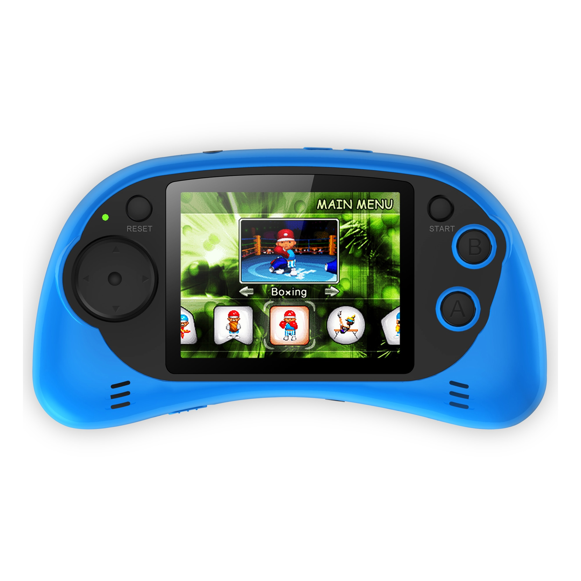 Fotografie Consola jocuri portabila Serioux, ecran 2.7, 200 jocuri incluse, Albastru