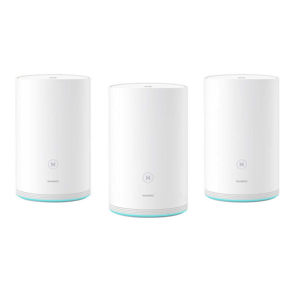 Fotografie Router Wireless HUAWEI Q2 Pro White (3 Pack · Hybrid) Gigabit 802.11ac 2 x 2 & 802.11n 2 x 2 MU-MIMO