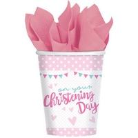 Christening, Keresztelő papír pohár 8 db-os 266 ml DPA9901939