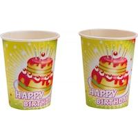 Happy Birthday papír pohár 8 db-os 250 ml DPA551700