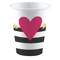 Love papír pohár 8 db-os 250 ml DPA9903115